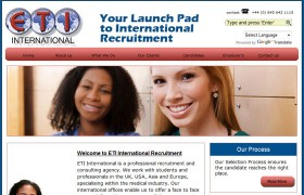 ETI International Recruitment | etiinternational.com